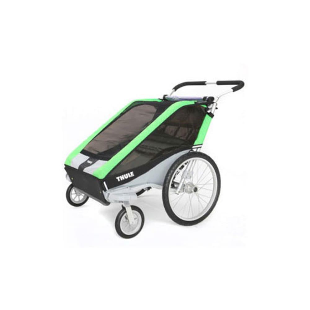THULE Chariot Cheetah 2 Multi-Sport Trailer - GREEN