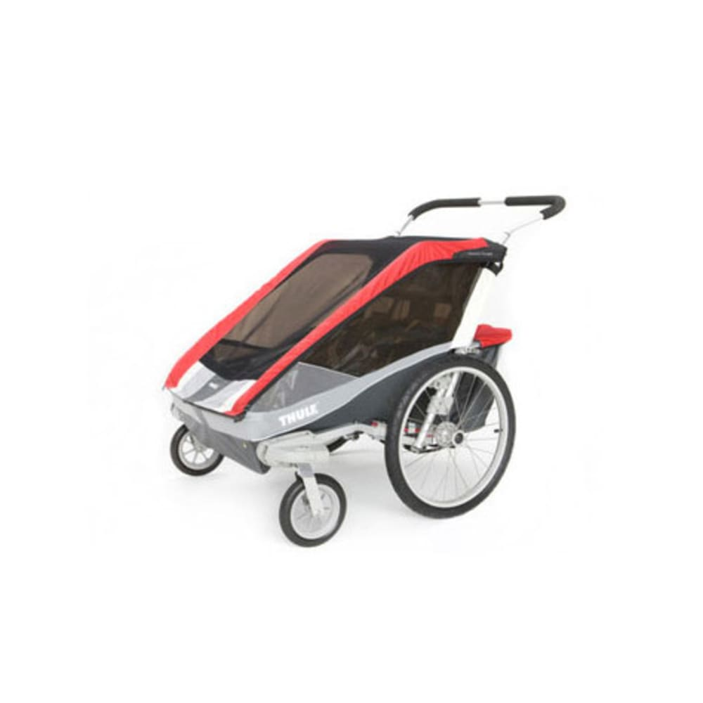 THULE Chariot Cougar 2 Multi-Sport Trailer - RED