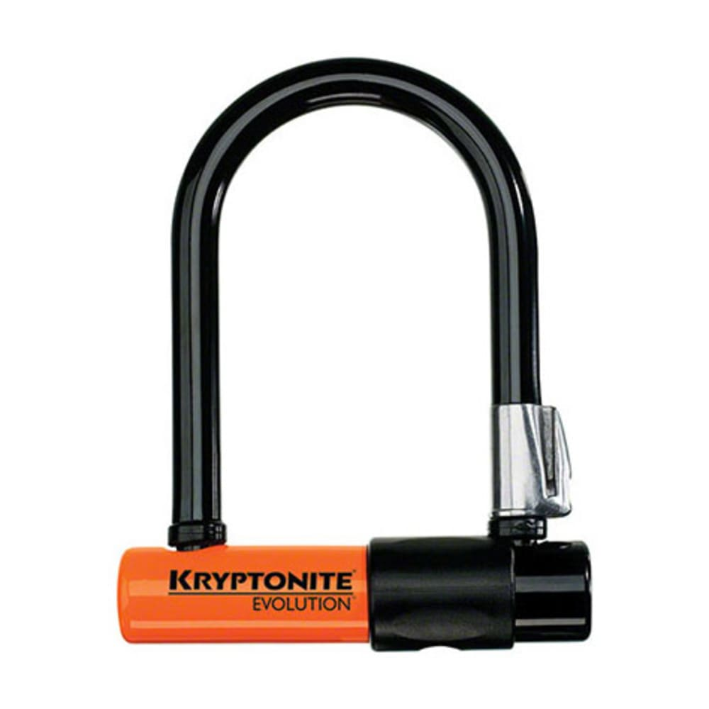 KRYPTONITE Evolution Mini-5 U-Lock - BLACK/ORANGE