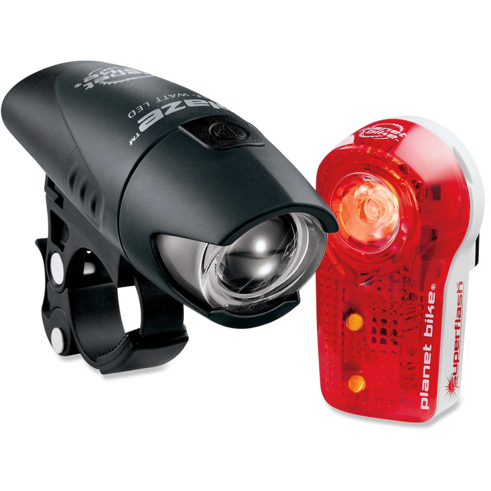PLANET BIKE Blaze 1/2 Watt and Superflash Light Set - NONE