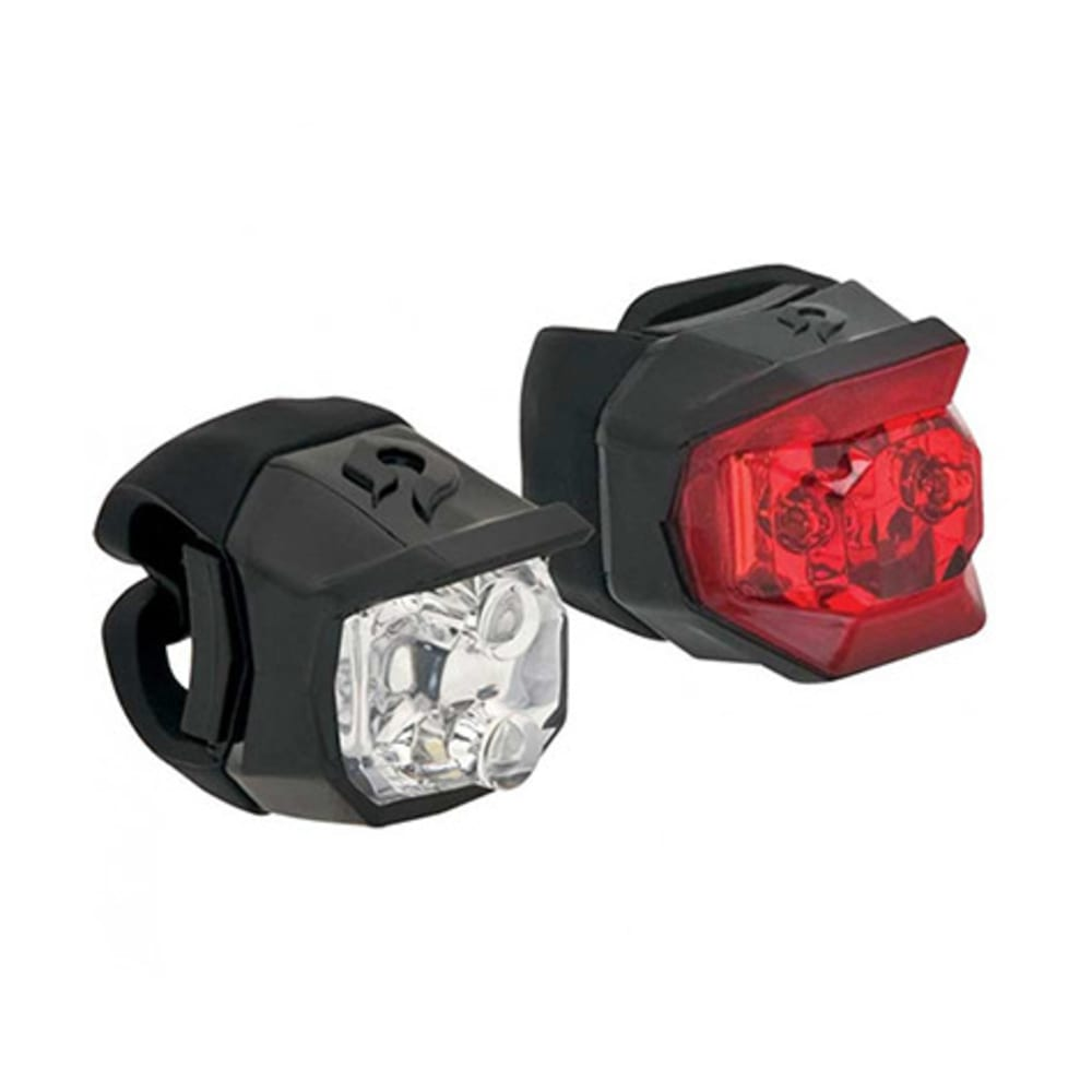 BLACKBURN Click Combo Bike Light Set, Black - BLACK