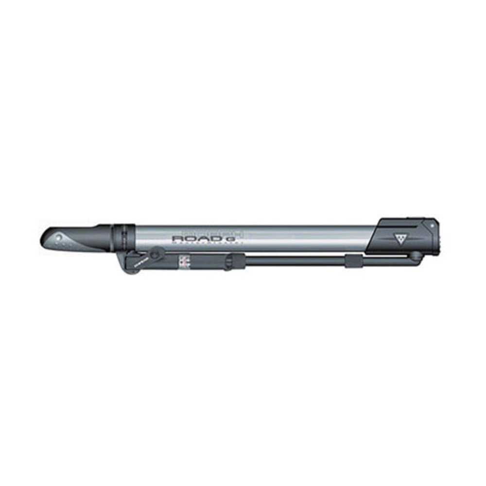 TOPEAK Road Morph G Bike Pump - SILVER/BLACK