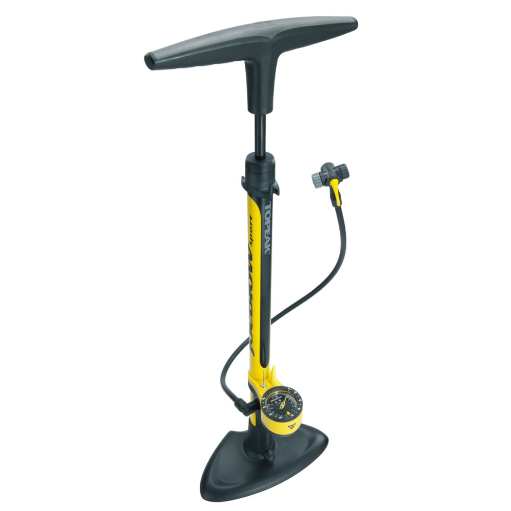 TOPEAK Joe Blow Sport II Floor Pump - YELLOW