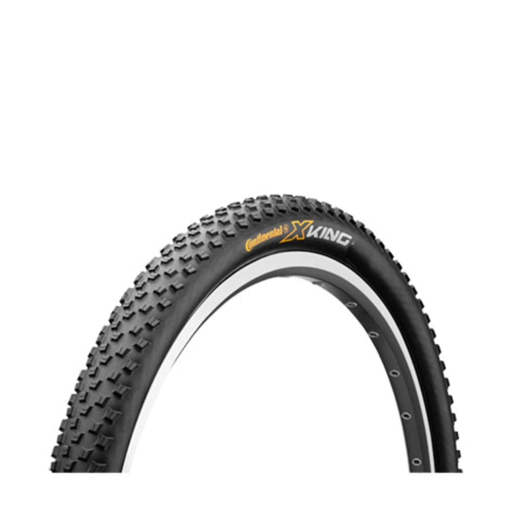 CONTINENTAL X-King Mountain Bike Tire, 29 x 2.2 in. - NONE