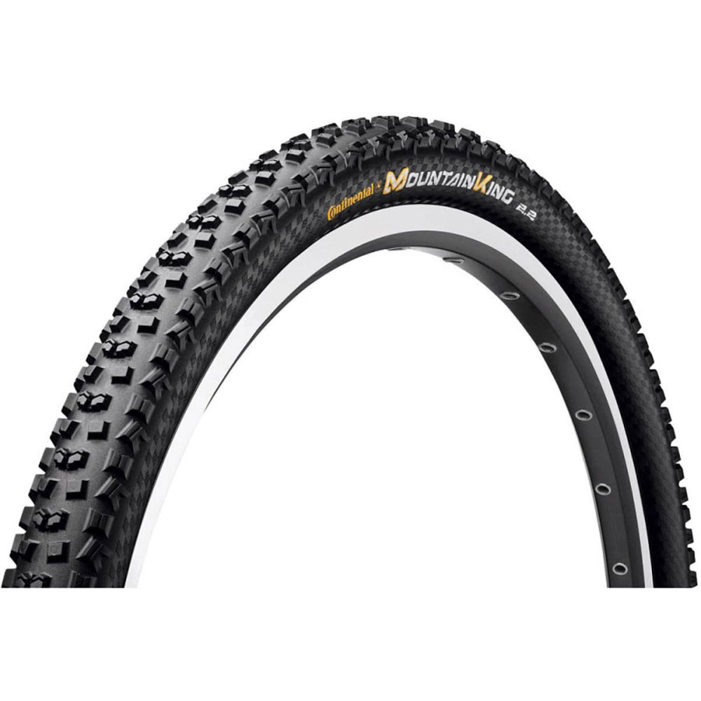 CONTINENTAL Mountain King Bike Tire, 29 x 2.2 c - BLACK