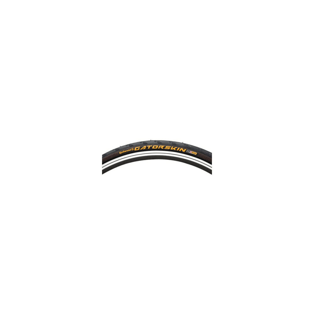 CONTINENTAL Gatorskin Road Bike Tire, 700 x 25 c - BLACK