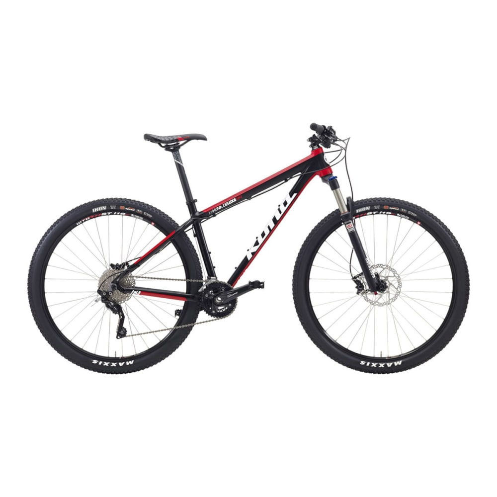 KONA Kahuna Deluxe Mountain Bike 2015 - BLACK