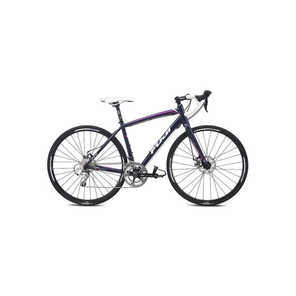 FUJI Women's Finest 1.3 Disc Road Bike, 2015 - BLUE