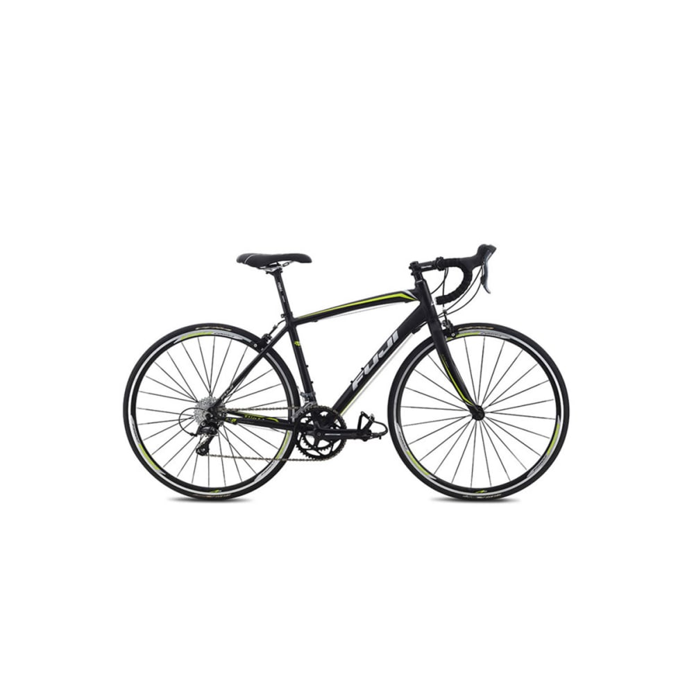 FUJI Women's Finest 2.1 Road Bike, 2015 - BLACK/CITRUS