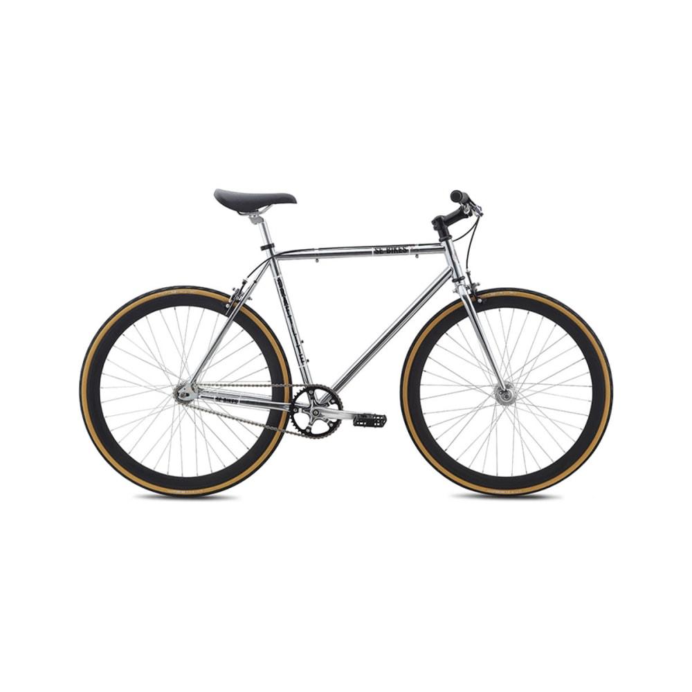 SE Draft Lite Hybrid Bicycle 2015, Chrome - CHROME