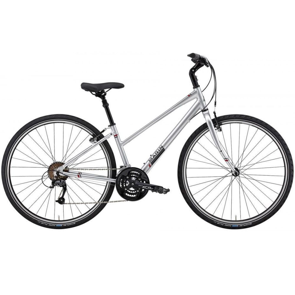 MARIN Kentfield CS1 Step Hybrid Bike - SILVER