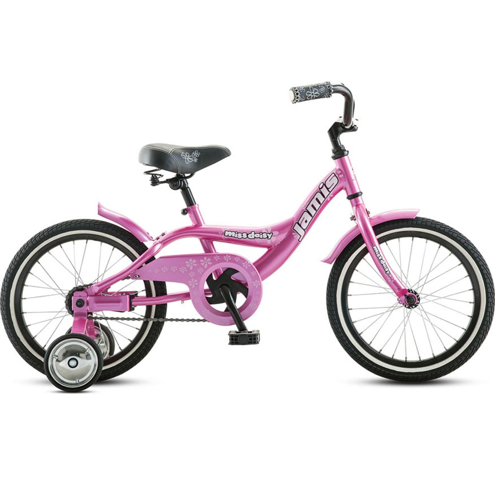 JAMIS Girls' Miss Daisy 16 Bicycle - RASPBERRY