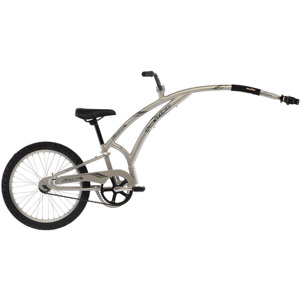 ADAMS Trail-a-Bike Folder Tandem Bicycle - SILVER