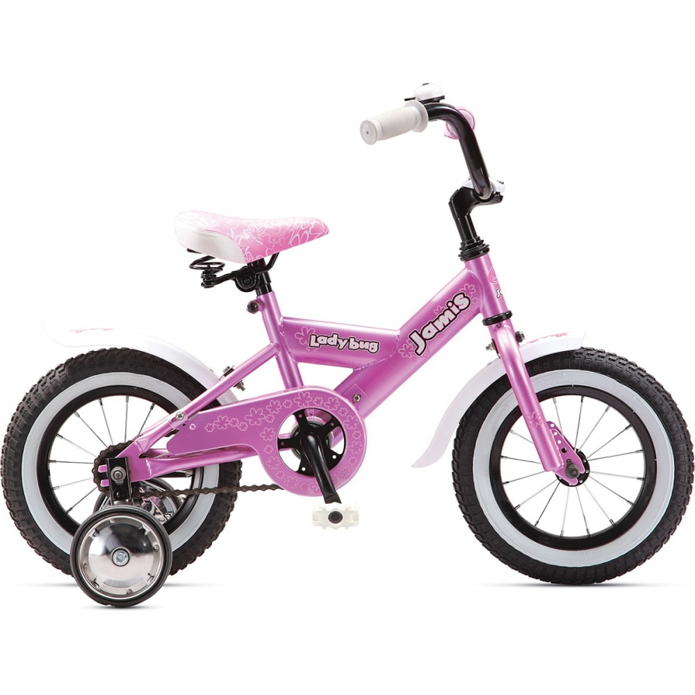 JAMIS Girls' Ladybug 12 Bicycle - RASPBERRY