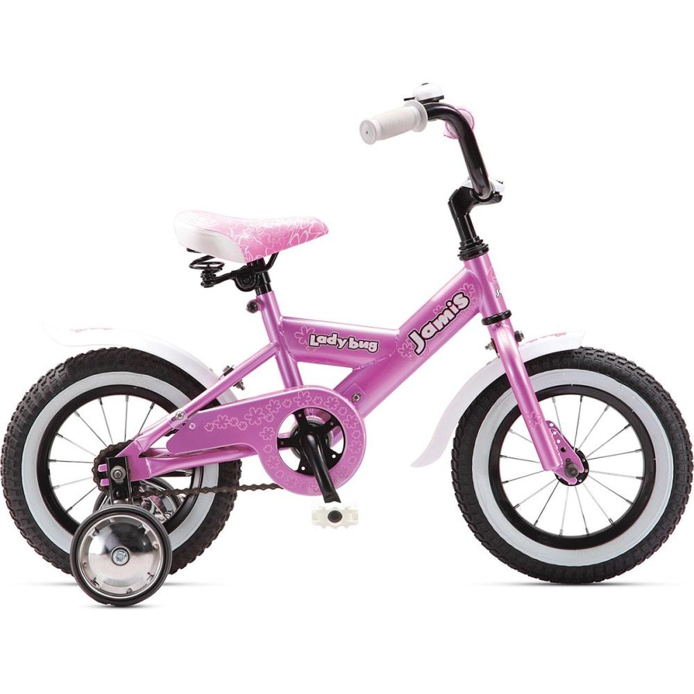 JAMIS Girls' Ladybug 12 Bicycle - RASPBERRY