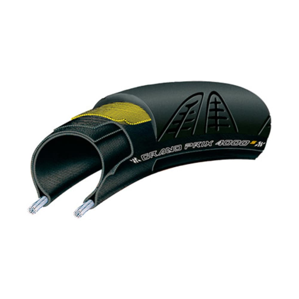 CONTINENTAL Grand Prix 4000s Road Bike Tire - BLACK