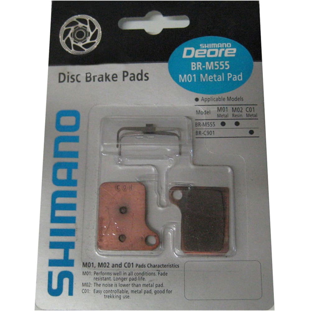 SHIMANO M08 Resin Brake Pads - NONE