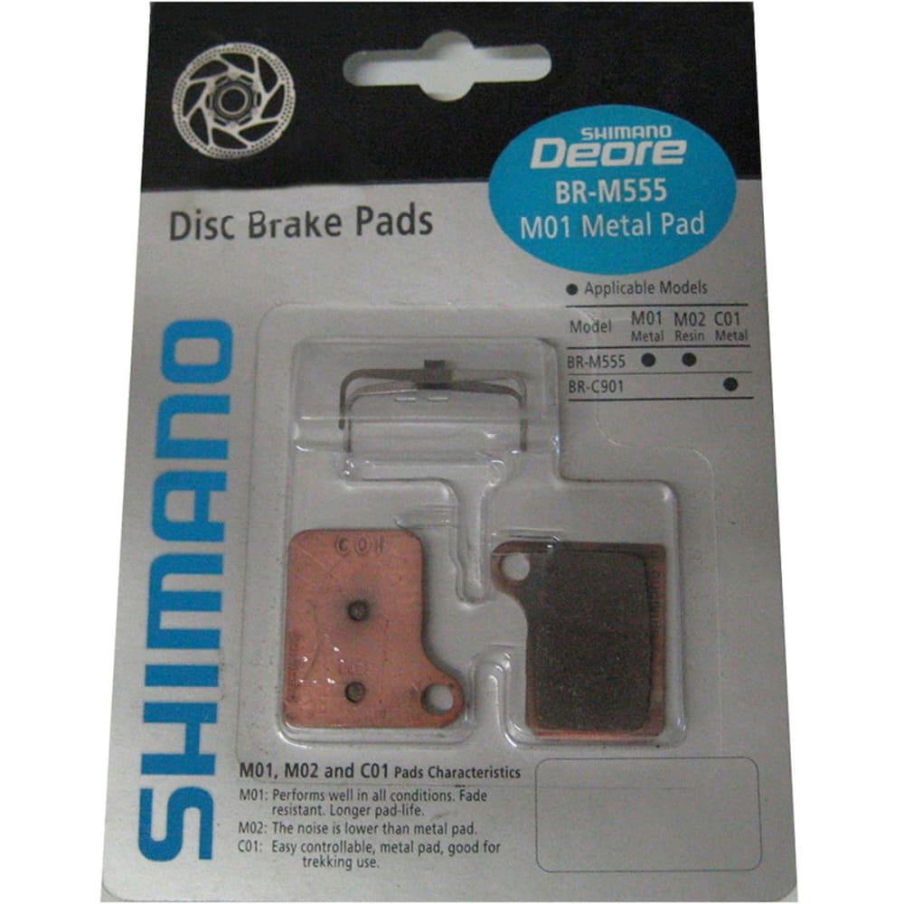 SHIMANO M08 Resin Brake Pads - NONE