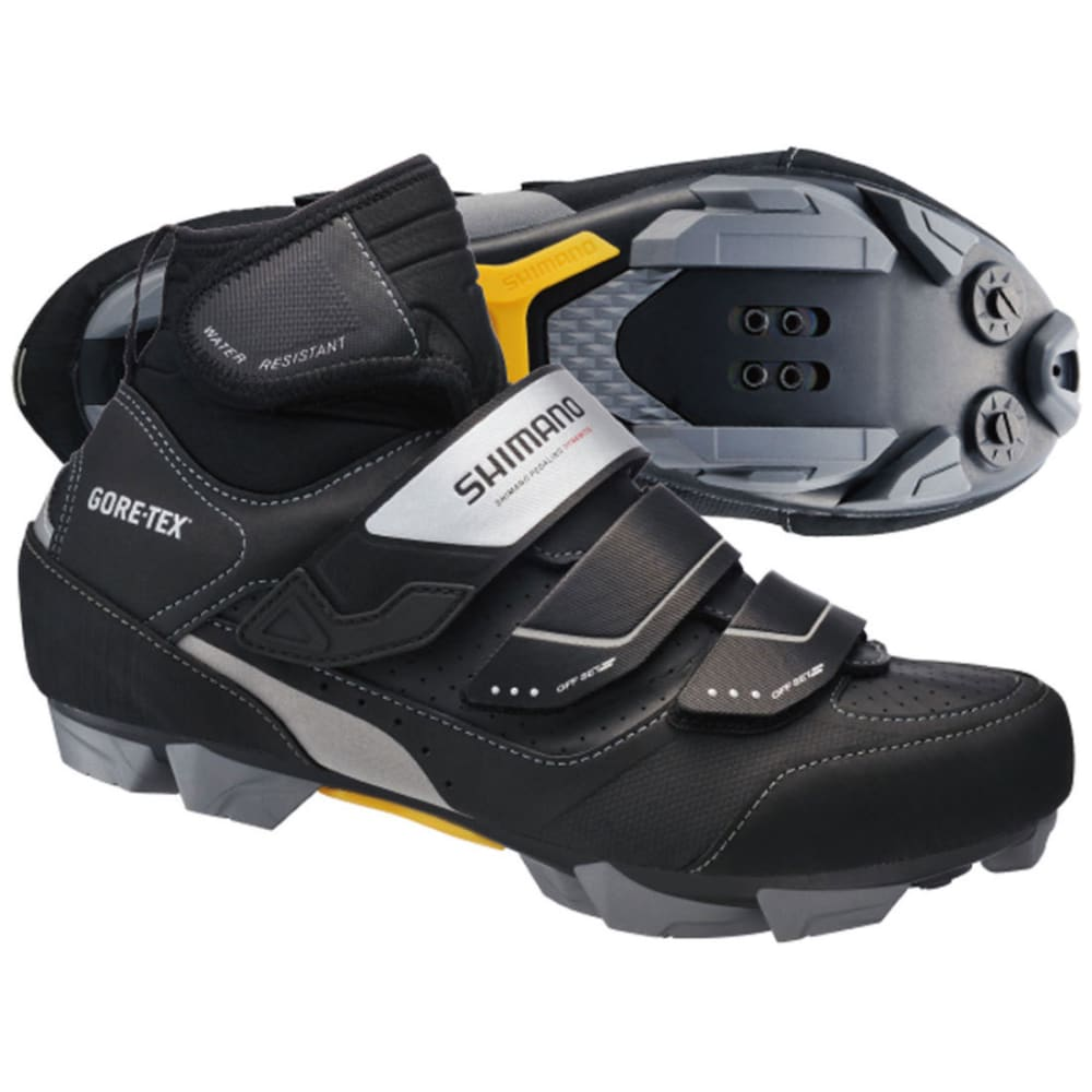 SHIMANO Men's M81 Winter Bike Shoes - BLACK