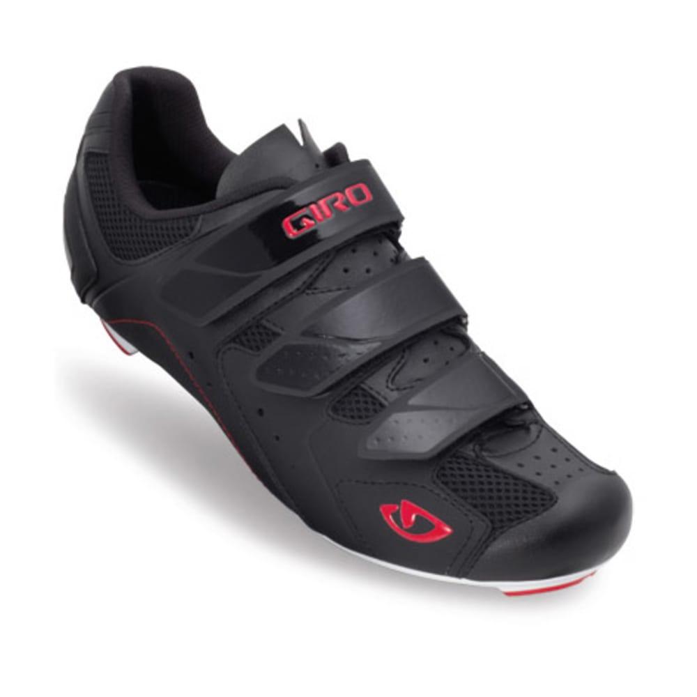 GIRO Men's Treble Bike Shoes - BLACK/WHITE