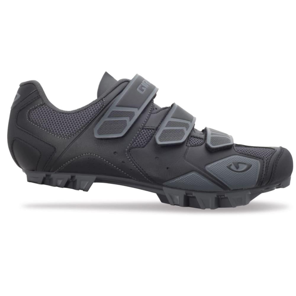 GIRO Men's Carbide Bike Shoes - BLACK/CHARCOAL