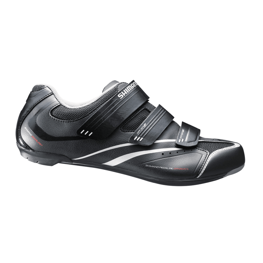 SHIMANO Men's R078 Bike Shoes - BLACK