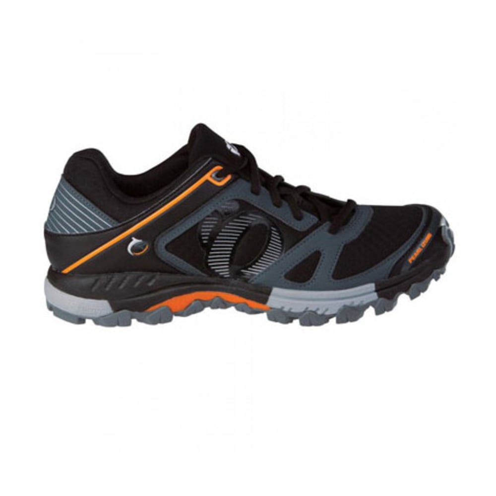PEARL IZUMI Men's X-Alp Seek V Bike Shoes - BLACK/ORANGE