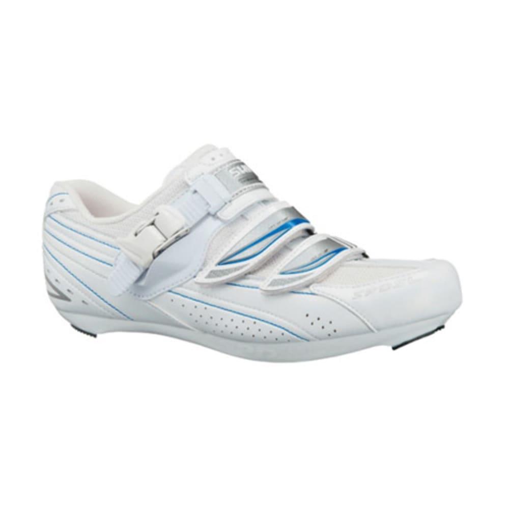 SHIMANO Women's WR41 Road Bike Shoes - WHITE