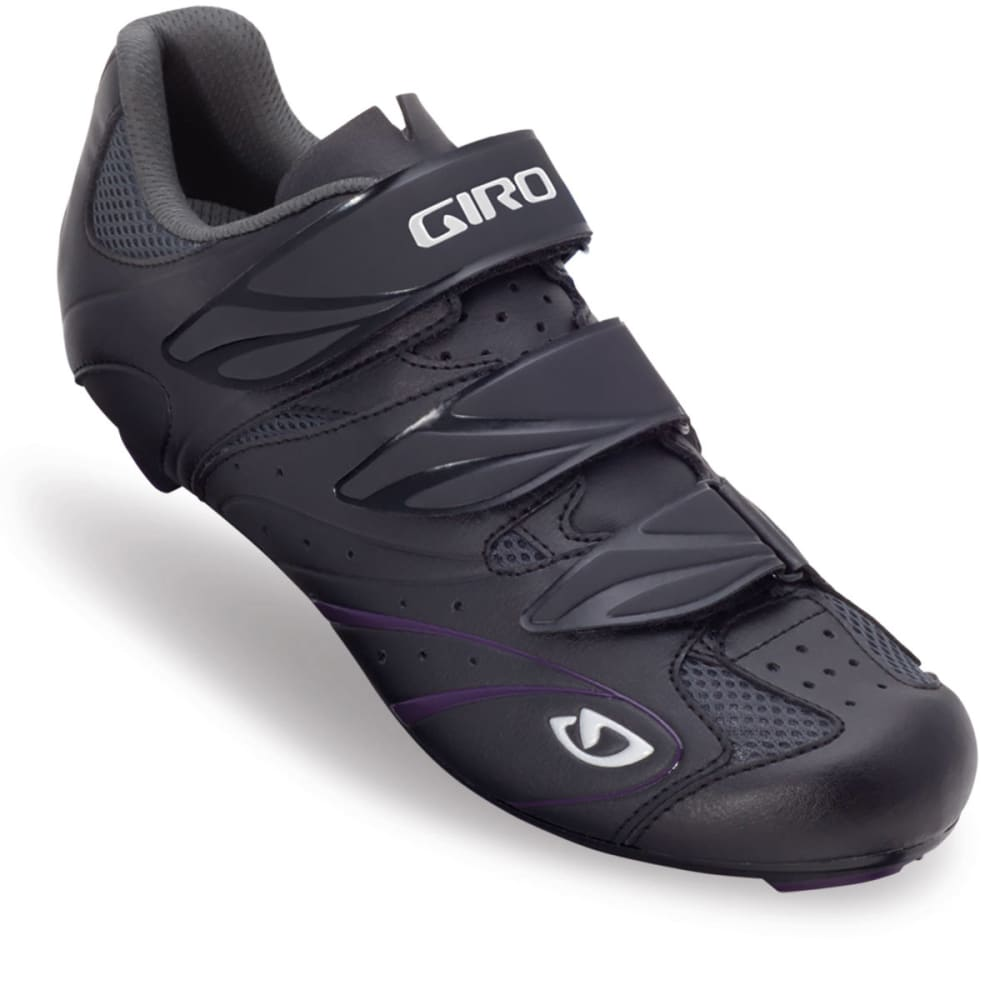 GIRO Women's Sante Bike Shoes - BLACK/PLUM