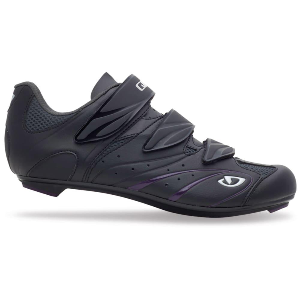 GIRO Women's Sante Bike Shoes - BLACK/PLUM