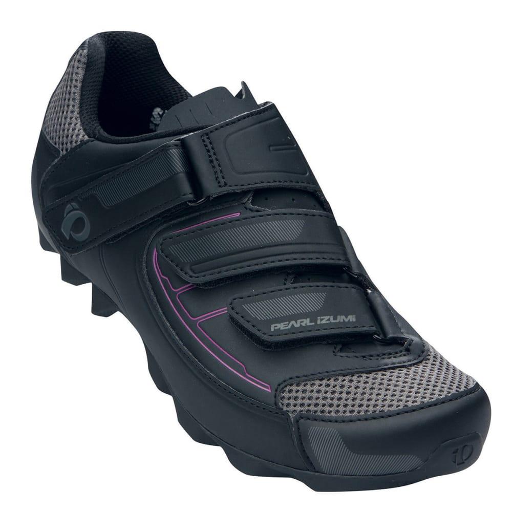 PEARL IZUMI Women's All-Road III Bike Shoes - BLACK