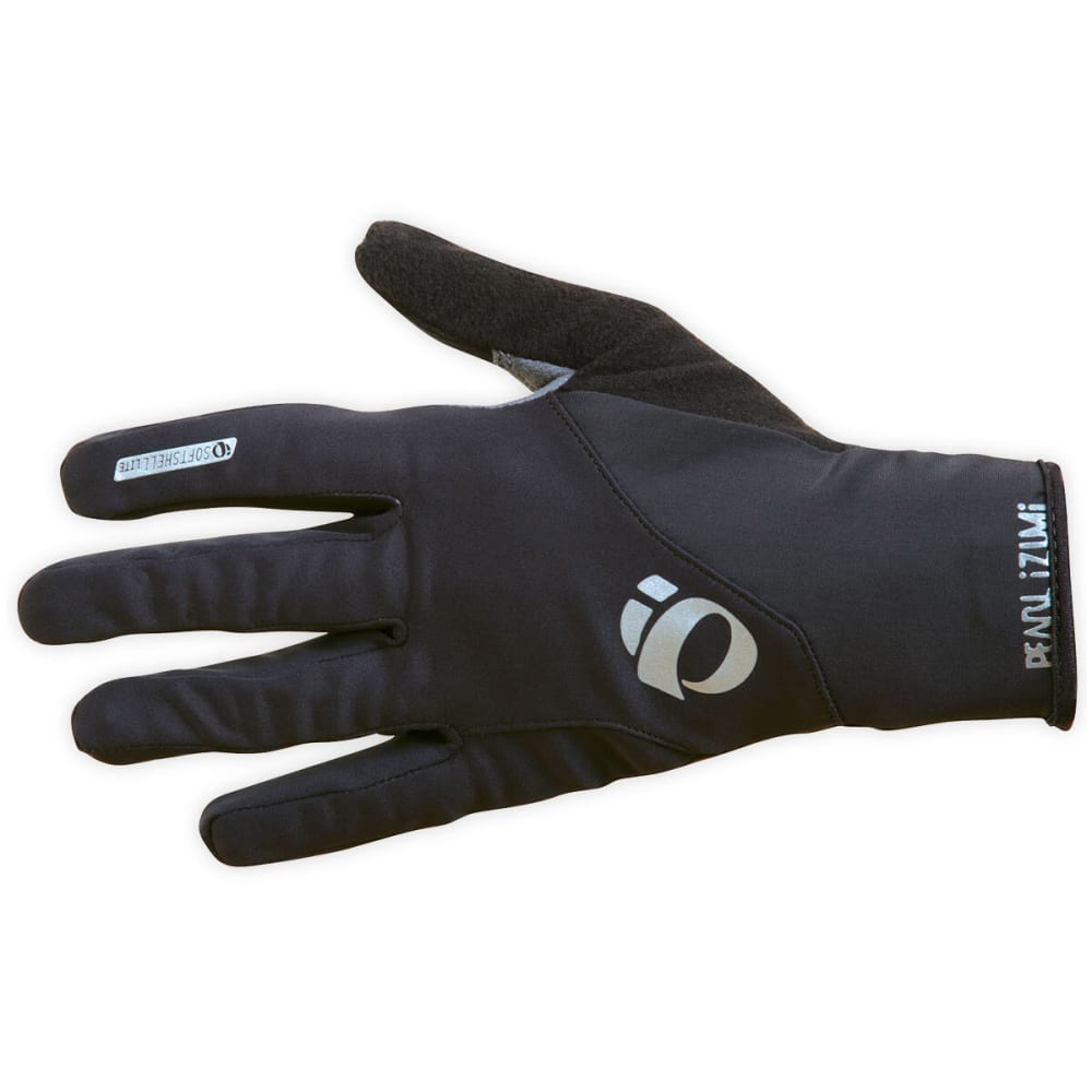 PEARL IZUMI Select Softshell Lite Bike Gloves - BLACK