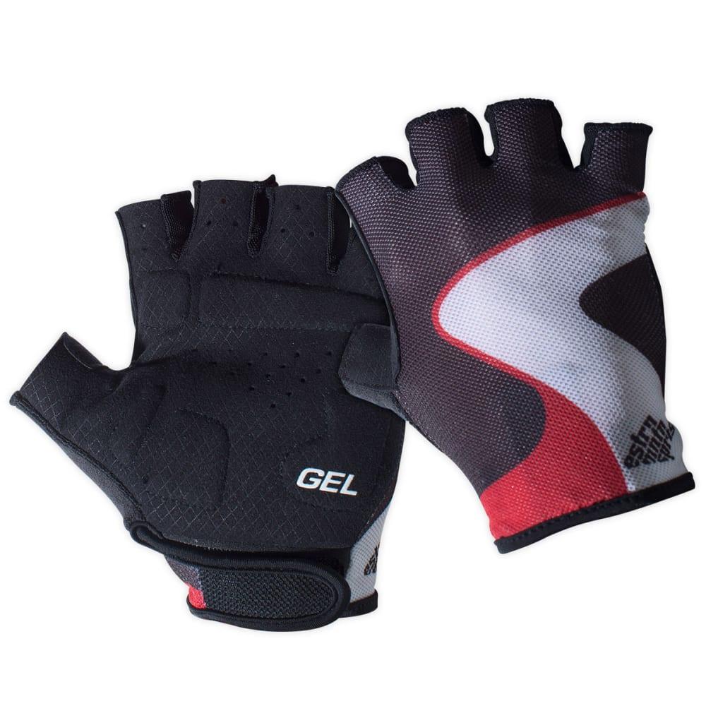 EMS Gel Bike Gloves - BLACK/RED