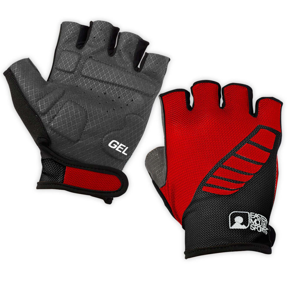 EMS Gel Bike Gloves - TRUE RED