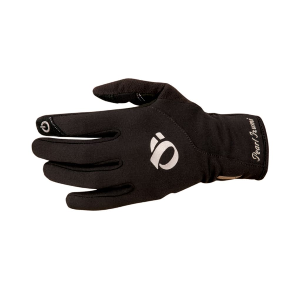 PEARL IZUMI Women's Thermal Conductive Gloves - BLACK