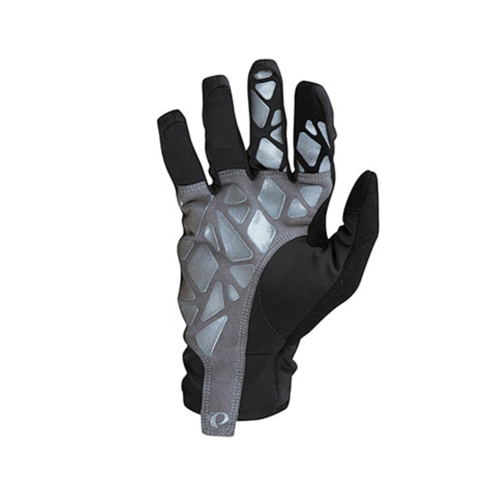 PEARL IZUMI Men's Select Soft Shell Lite Bike Gloves - BLACK