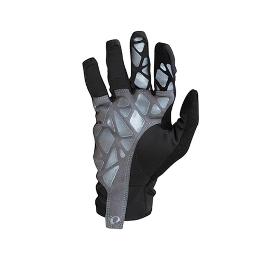 PEARL IZUMI Men's Select Soft Shell Lite Bike Gloves - BLACK