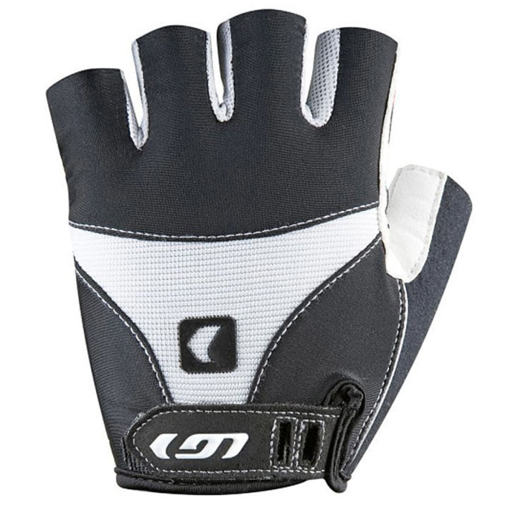 LOUIS GARNEAU 12 AC Air Gel Bike Gloves - BLACK/WHITE