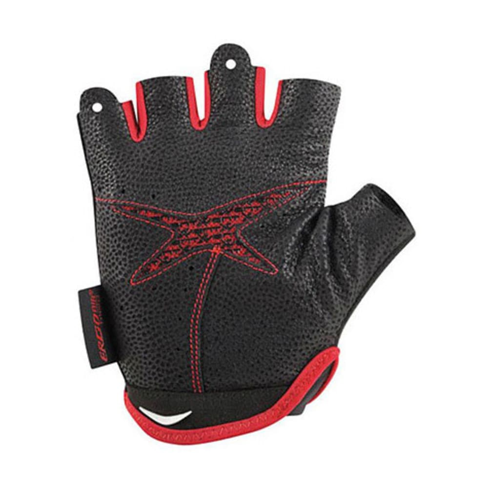 LOUIS GARNEAU Connect Bike Gloves - BLACK/RED
