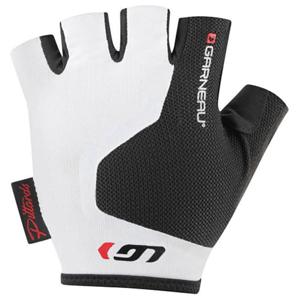 LOUIS GARNEAU Mondo 2 Bike Gloves - WHITE/BLACK
