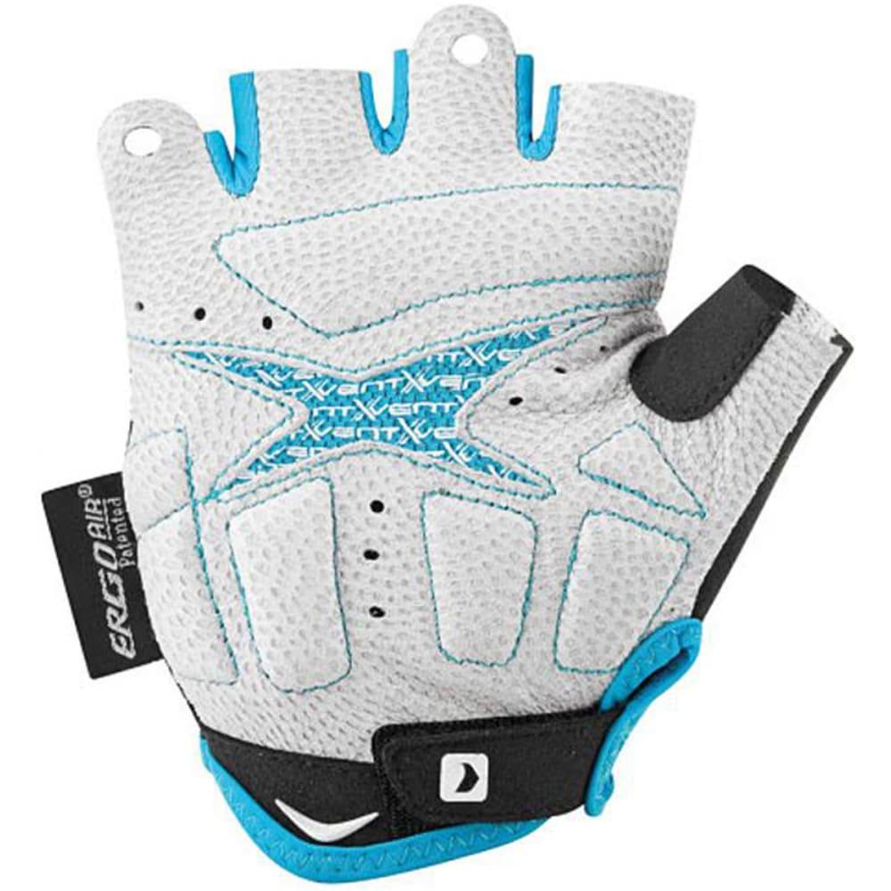 LOUIS GARNEAU Women's Mondo 2 Bike Gloves - WHITE/BLUE