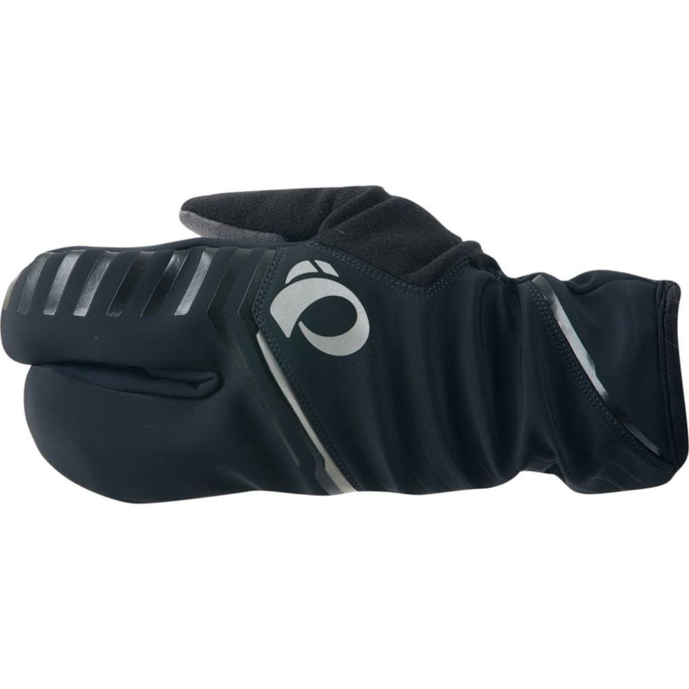 PEARL IZUMI PRO AmFib Lobster Full Finger Cycling Gloves - BLACK
