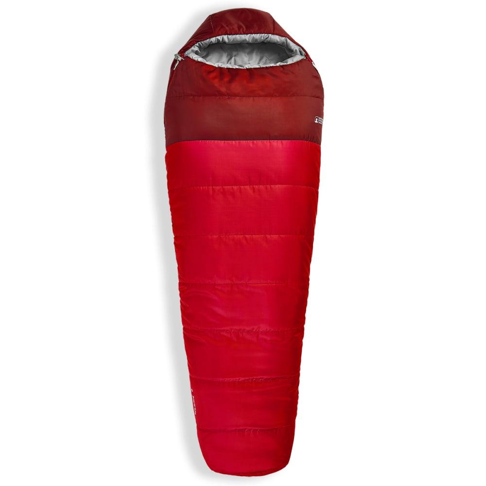EMS Solstice 0° Sleeping Bag, Regular - CHILI PEPPER/F BRICK