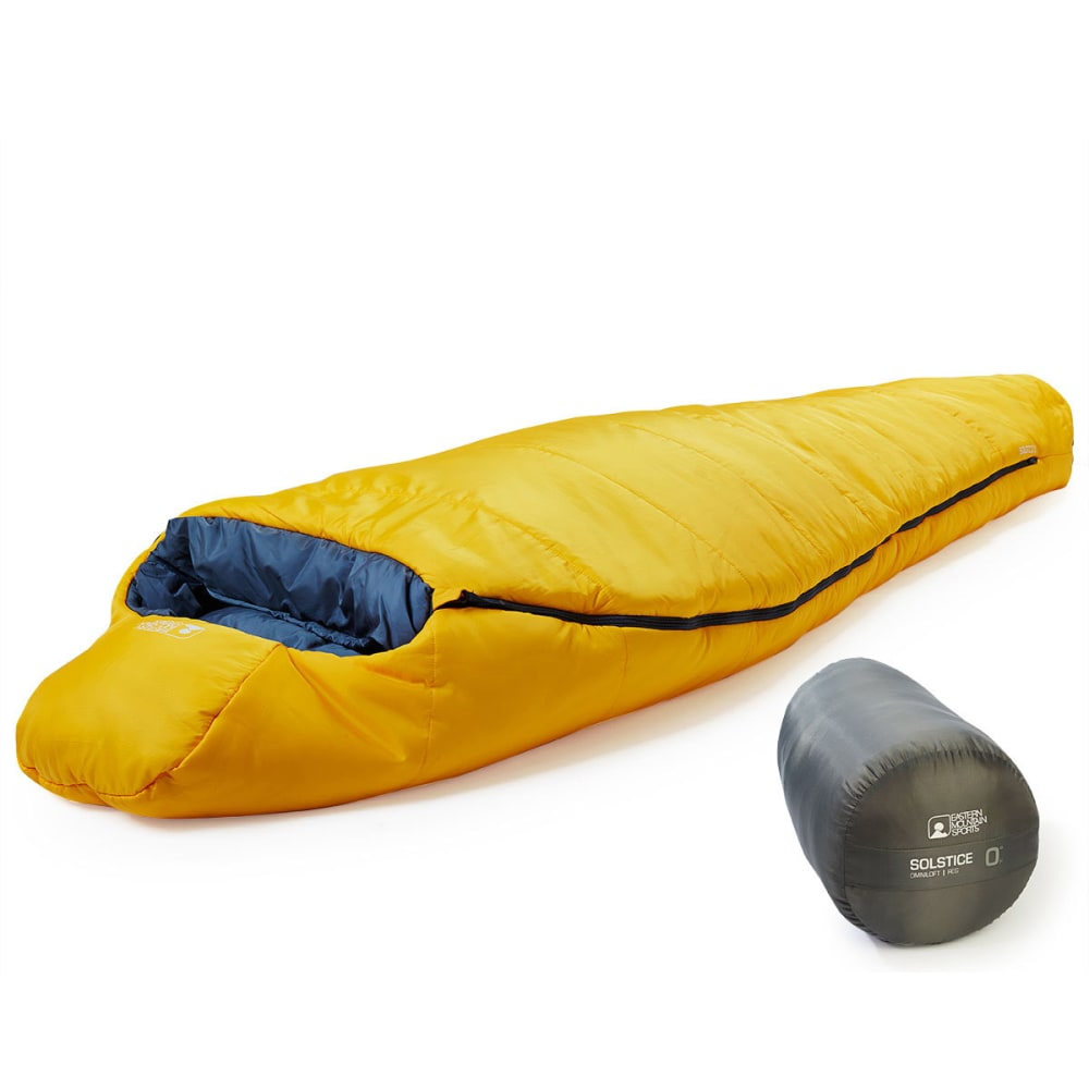 EMS Solstice 0° Sleeping Bag, Regular - GOLD FUSION