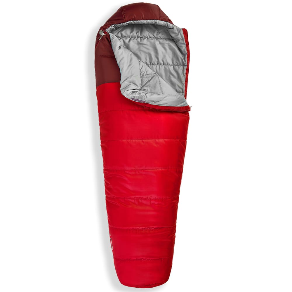 EMS Solstice 0° Sleeping Bag, Long - CHILI PEPPER/F BRICK