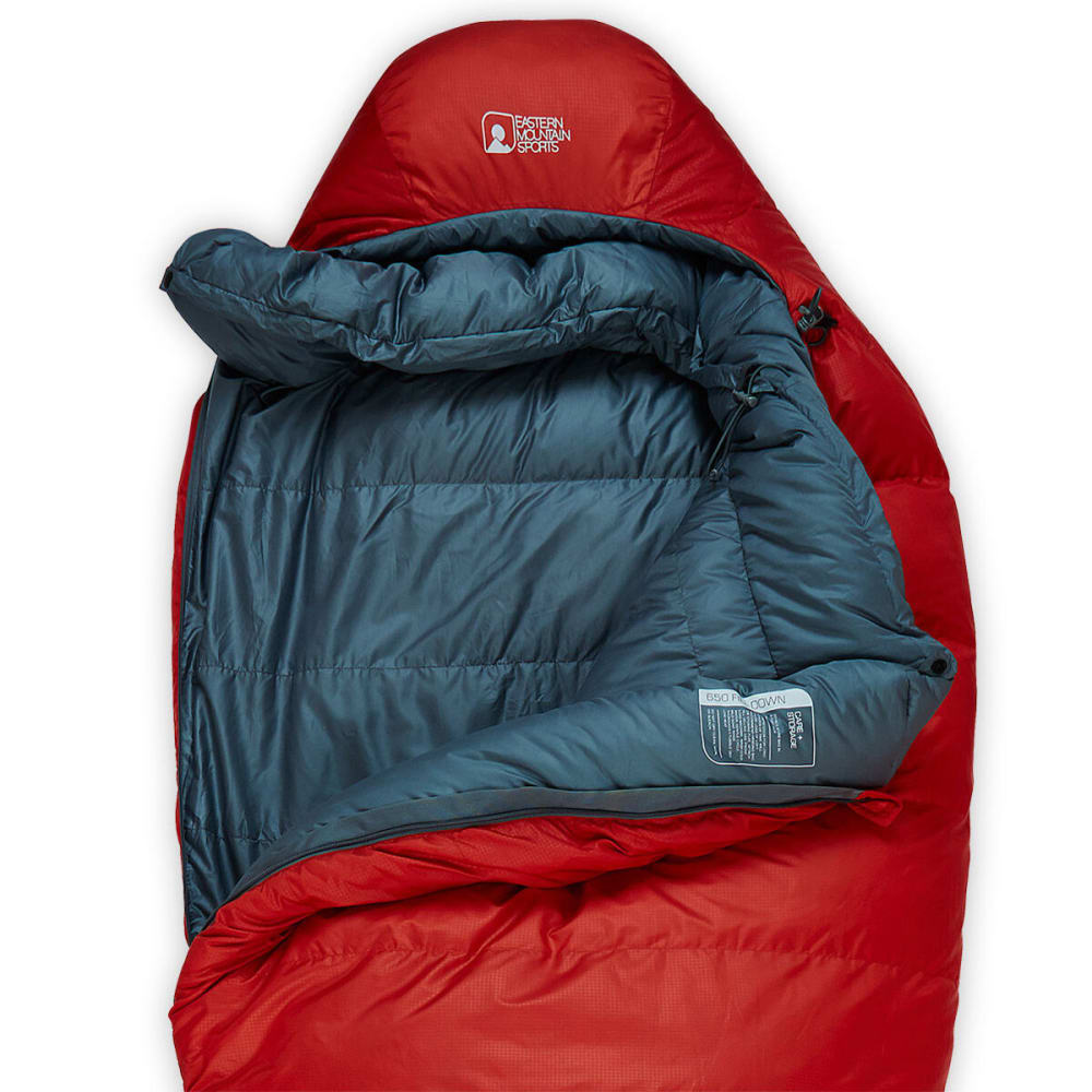 EMS Simmer Down 0° Sleeping Bag - MOLTEN LAVA