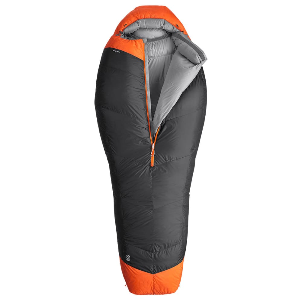 THE NORTH FACE Inferno -20° Sleeping Bag, Regular - ASPHALT GREY/ORANGE