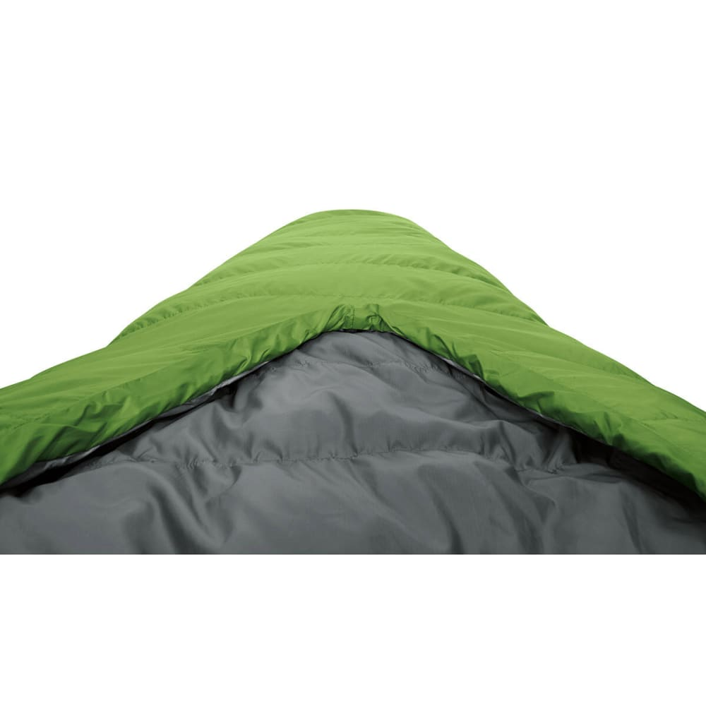 SIERRA DESIGNS 2-Season Backcountry Bed 600 Sleeping Bag, Regular - PIQUANT GREEN