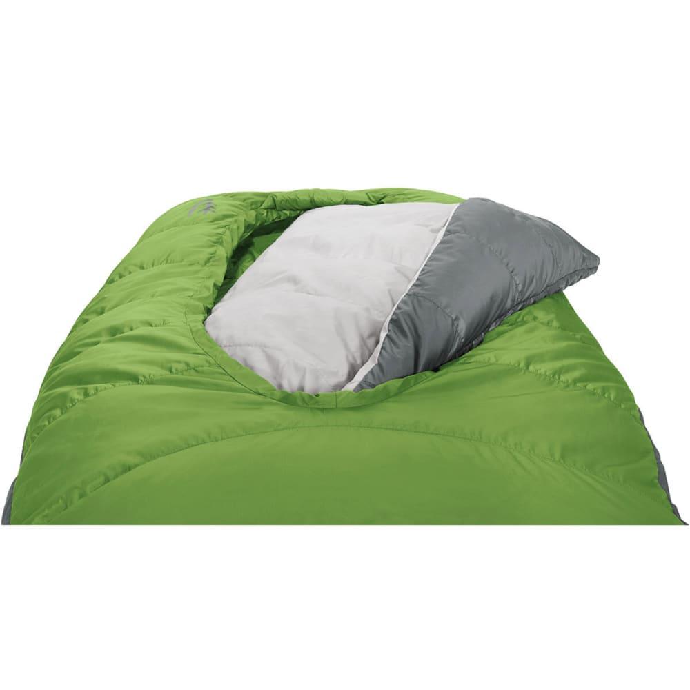 SIERRA DESIGNS 2-Season Backcountry Bed 600 Sleeping Bag, Regular - PIQUANT GREEN