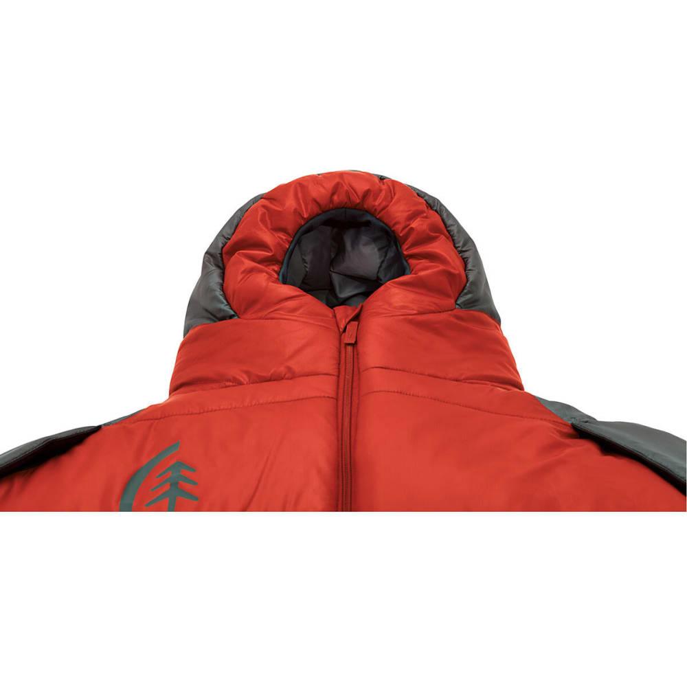 SIERRA DESIGNS Mobile Mummy 1.5 Season SYN Sleeping Bag, Regular - POMPEIAN RED